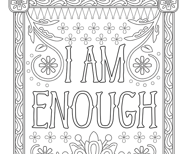 Free Printable Inspirational Coloring Pages