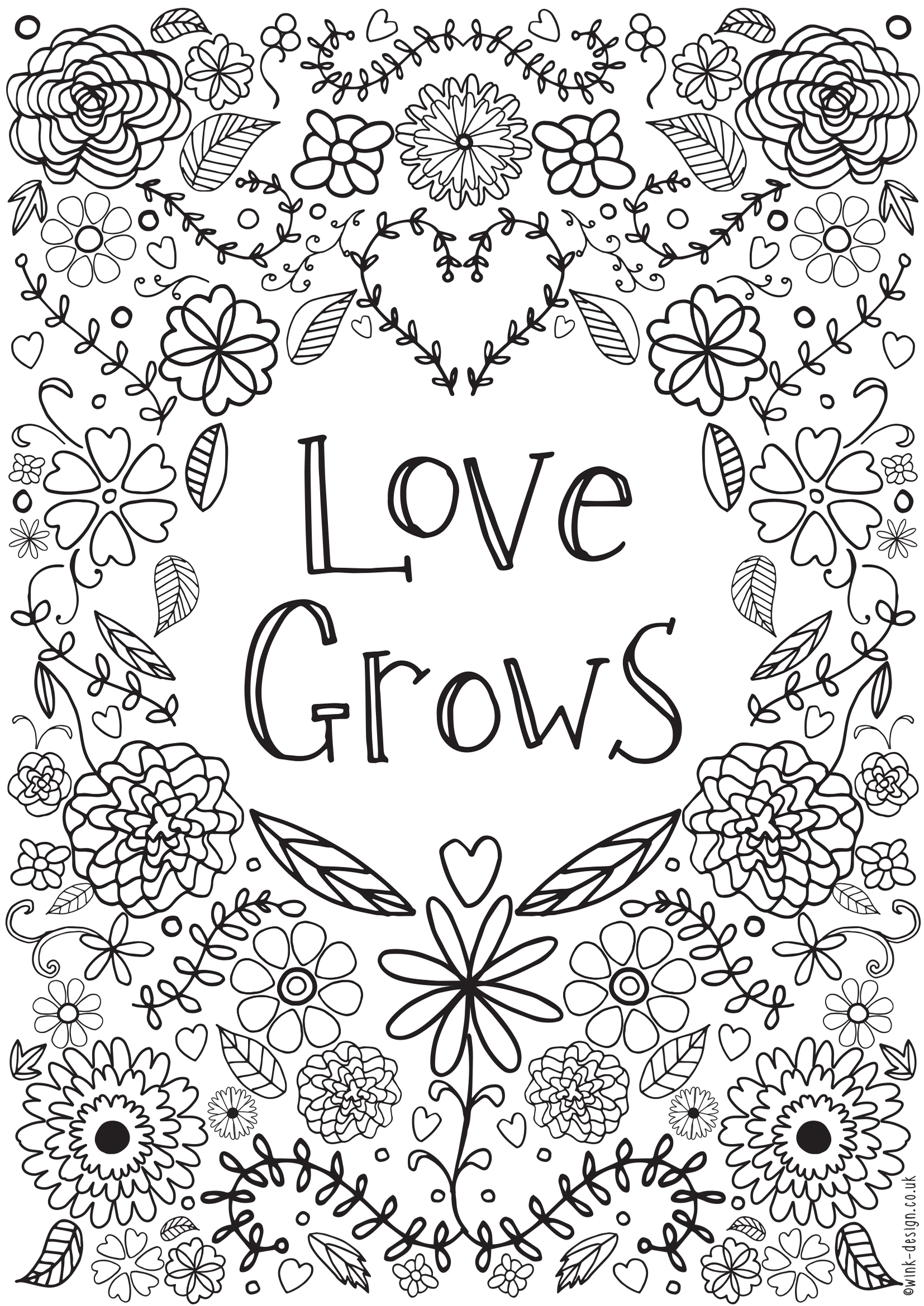 Free Printable Inspirational Coloring Pages - Free Printable Adult Colouring Pages for the New Year