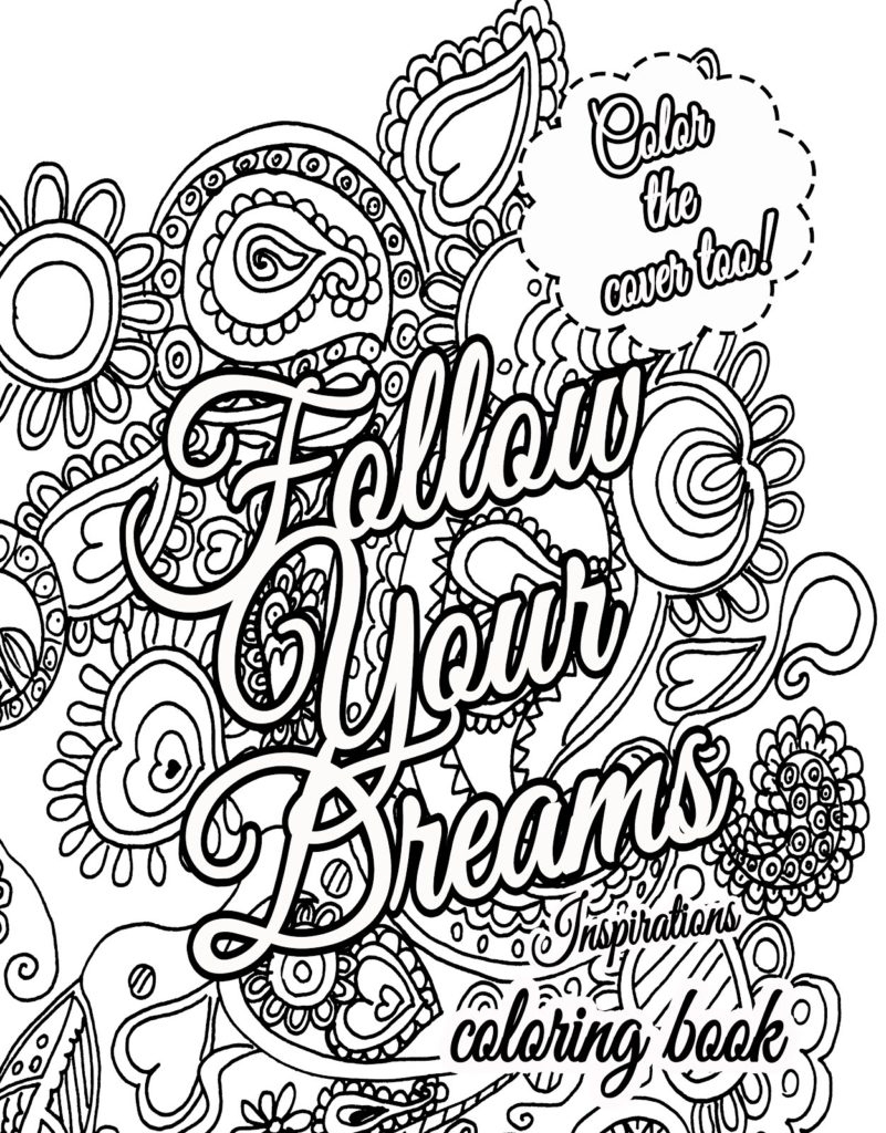 free printable inspirational coloring pages - r=inspirational