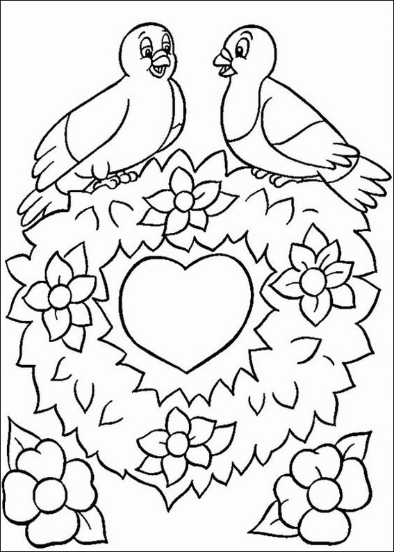 free printable jesus coloring pages - saint valentin