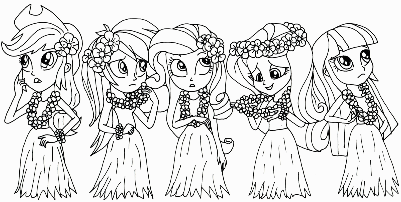 free printable my little pony coloring pages - my little pony equestria girl coloring pages
