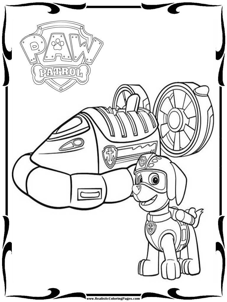 free printable paw patrol coloring pages - printable coloring pages for paw patrol