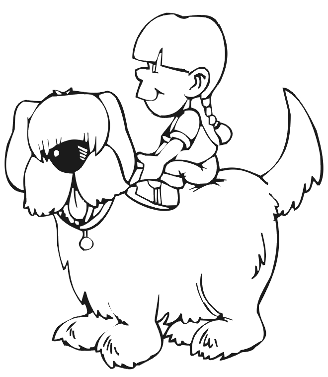 free printable pokemon coloring pages - animal coloring funny and cute dog