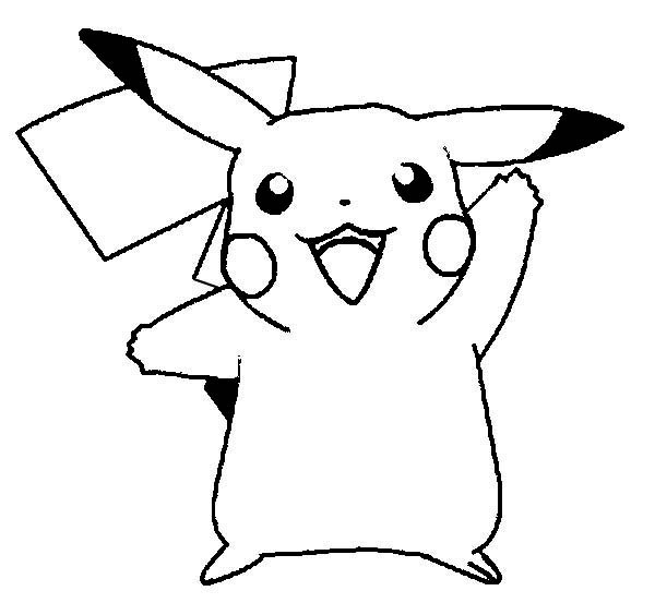 free printable pokemon coloring pages - pikachu coloring pages