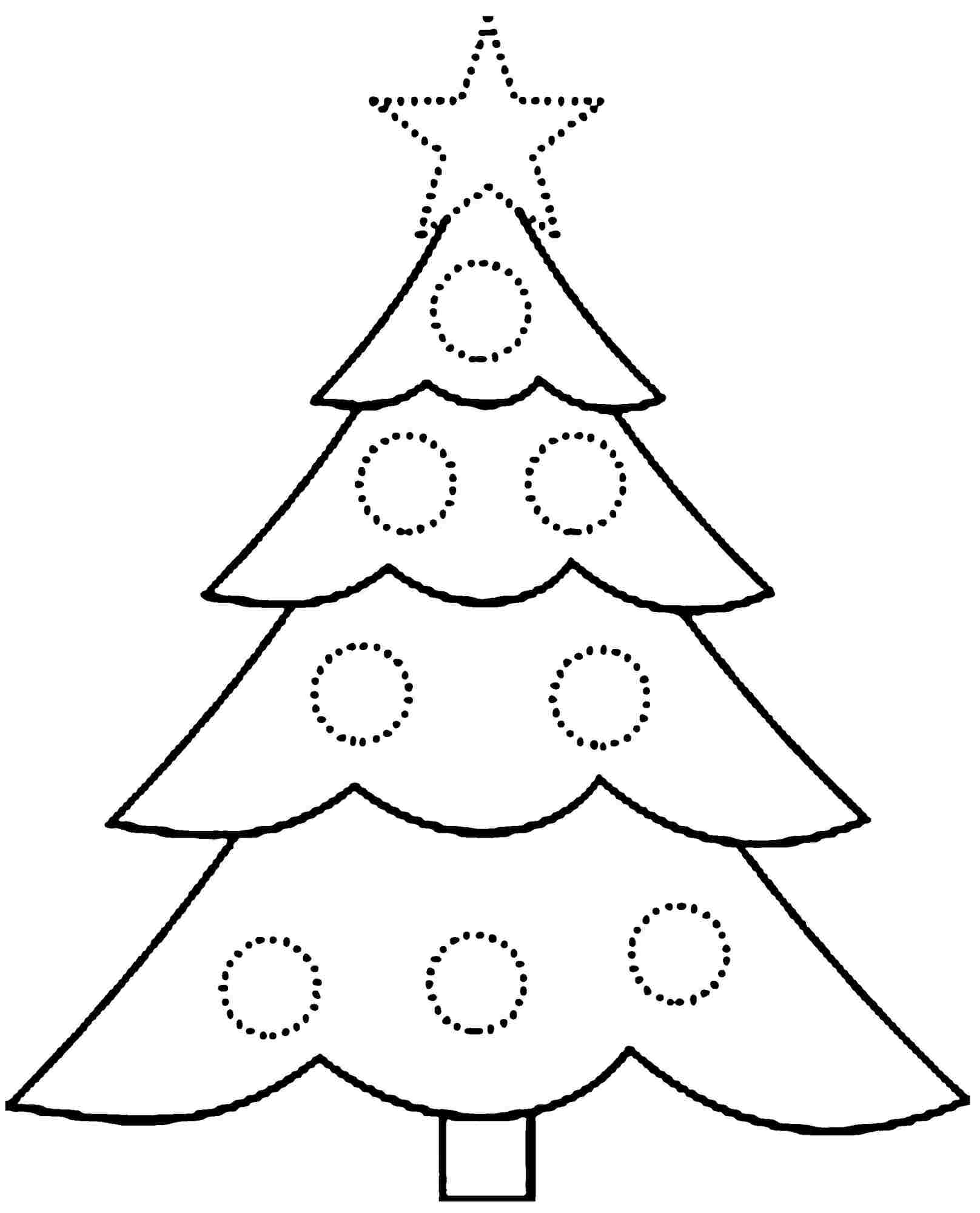 Free Printable Princess Coloring Pages - Free Printable Christmas Tree Coloring Pages