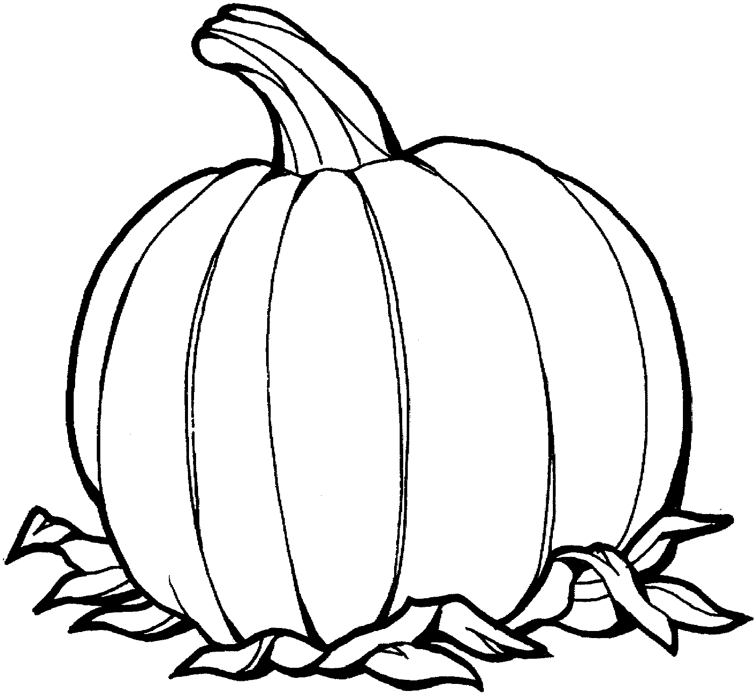 Free Printable Pumpkin Coloring Pages - Free Printable Pumpkin Coloring Pages for Kids