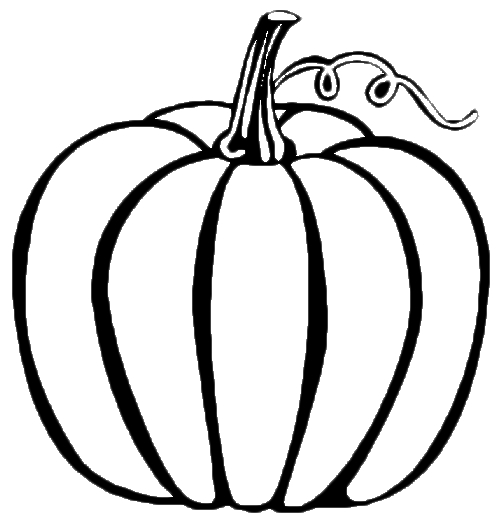 free printable pumpkin coloring pages - pumpkin coloring page
