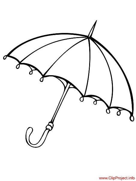 free printable quote coloring pages for adults - umbrella image to color 392