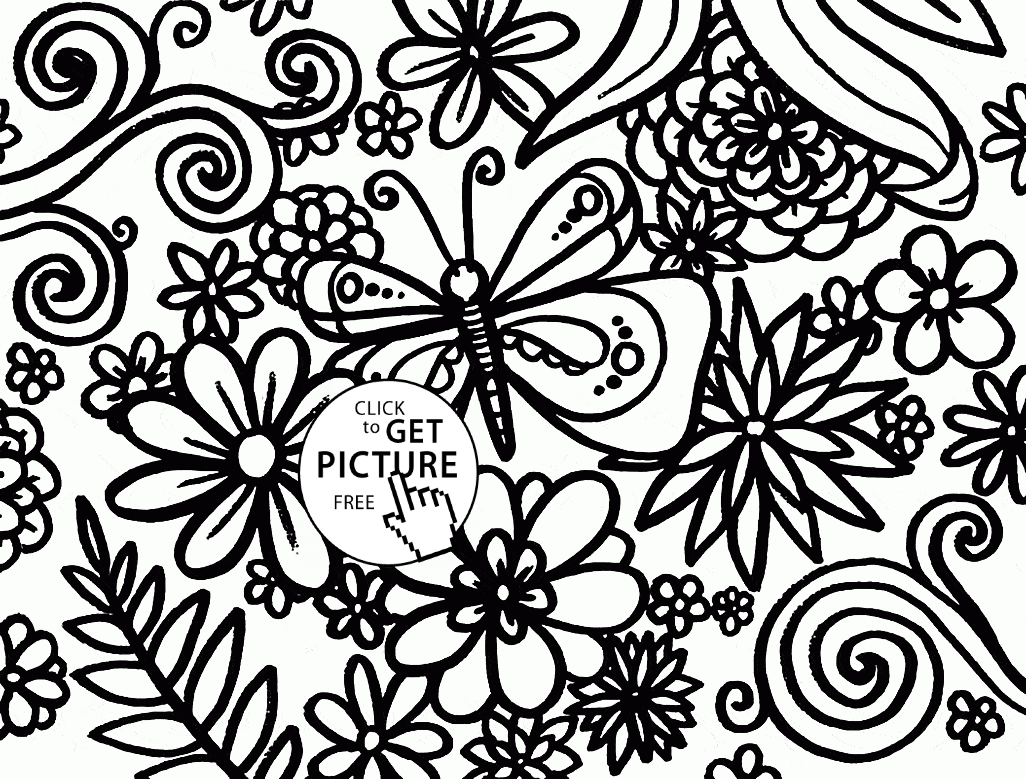 picture relating to Free Printable Spring Coloring Pages for Adults titled 27 Free of charge Printable Spring Coloring Webpages for Grown ups