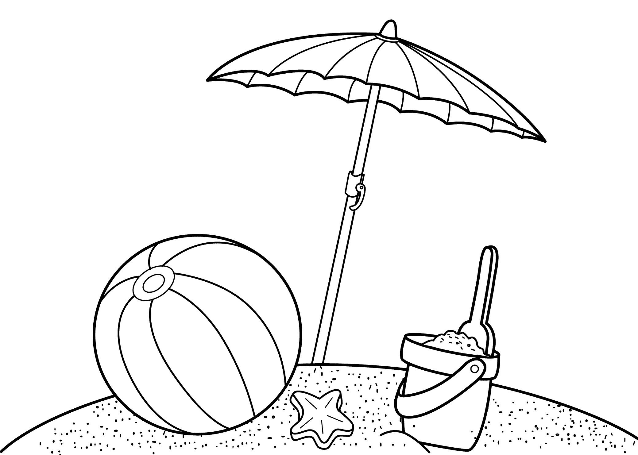 free printable summer coloring pages - free printable summer coloring pages kids