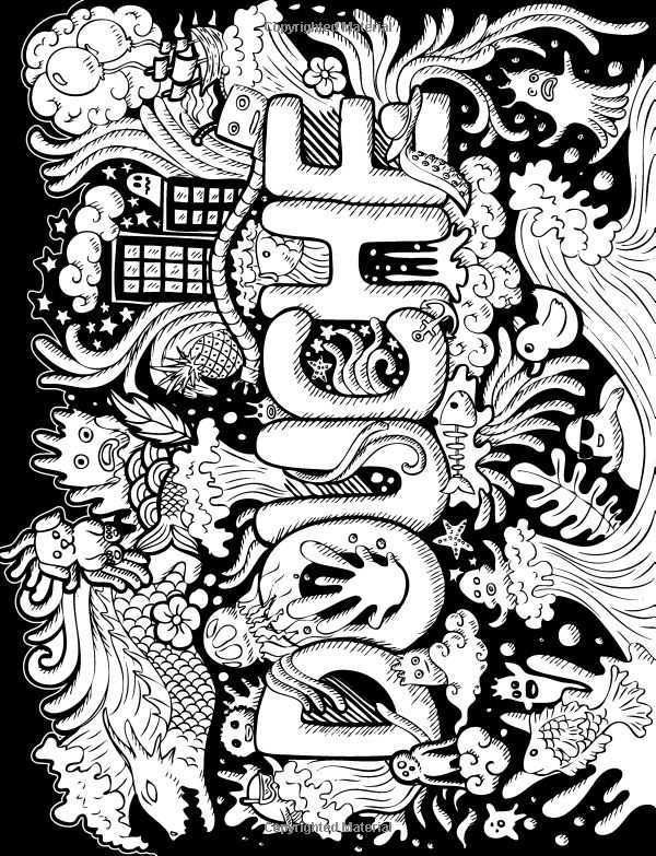 24 Free Printable Swear Word Coloring Pages Compilation ...