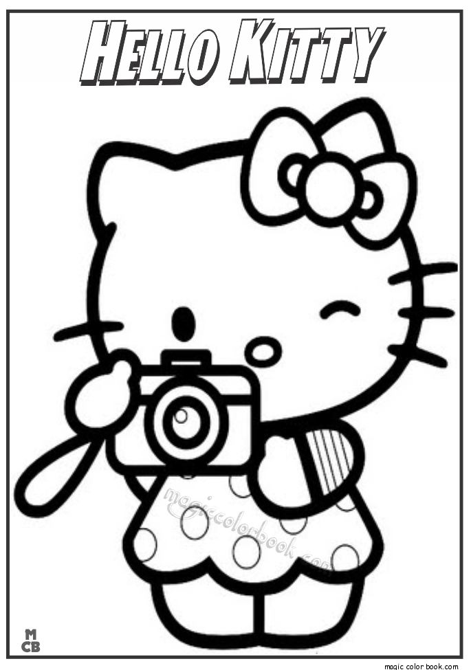 free printable thanksgiving coloring pages - hello kitty coloring pages 02