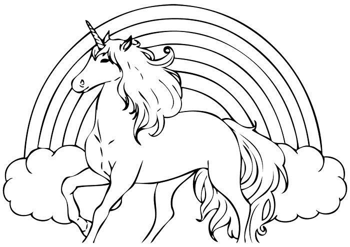 free printable unicorn coloring pages - unicorn coloring pages