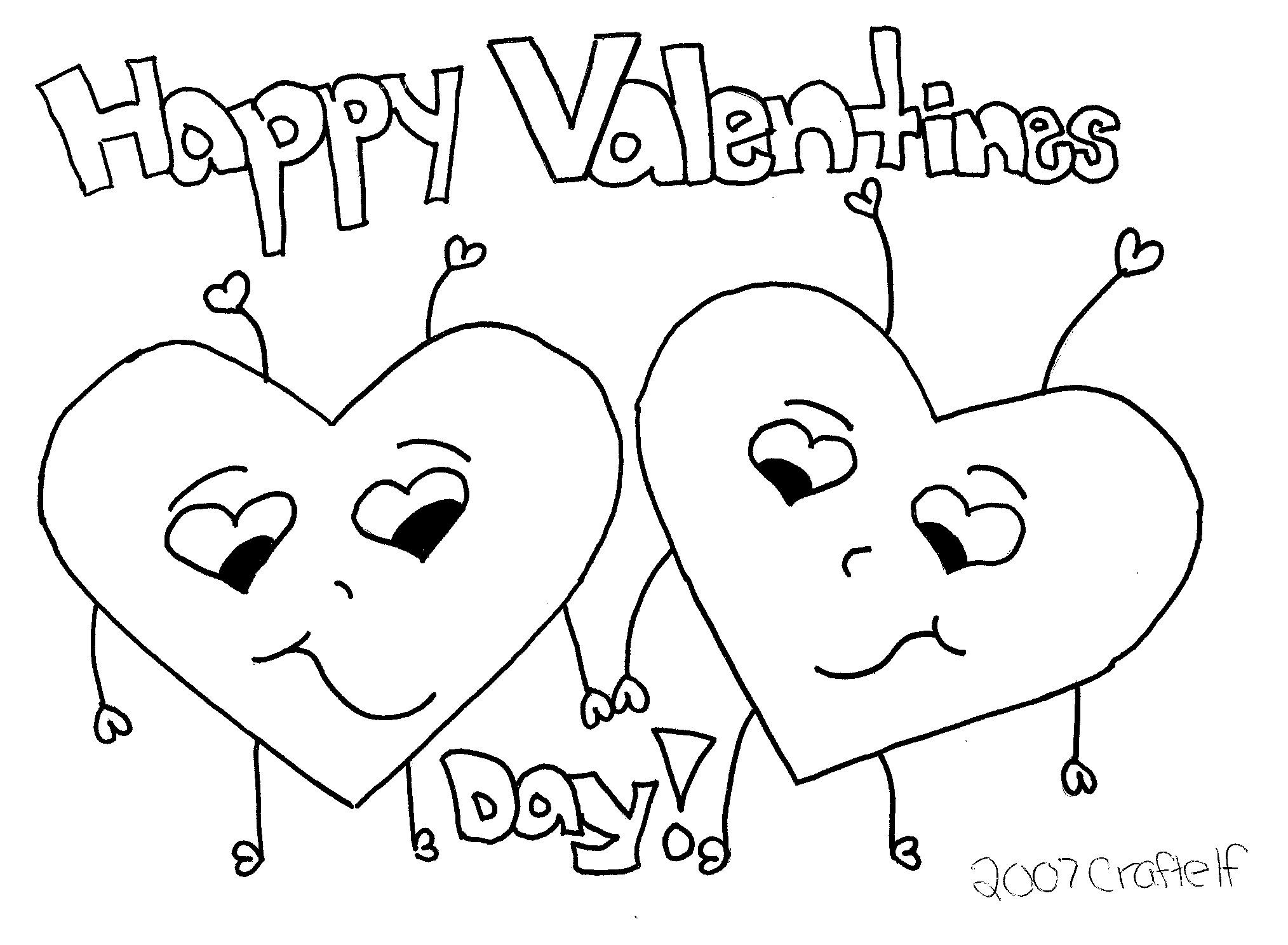free printable valentine coloring pages - valentines day coloring pages 3