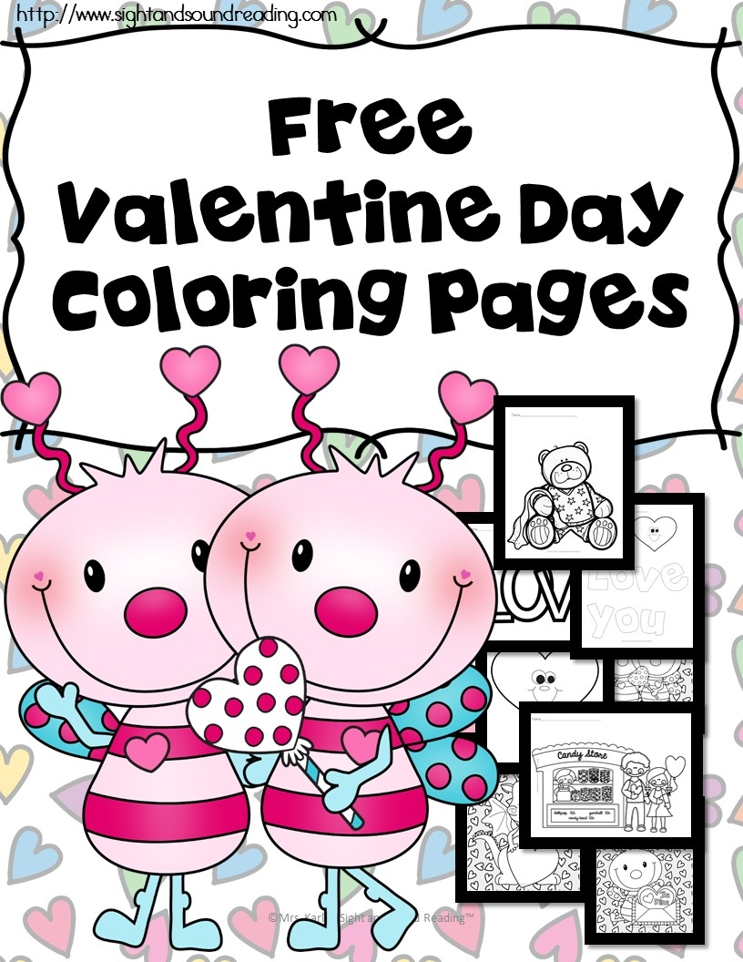 25 Free Printable Valentines Day Coloring Pages Collections | FREE ...