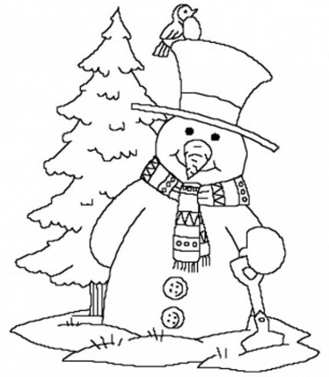Free Printable Winter Coloring Pages - Printable Winter Coloring Pages