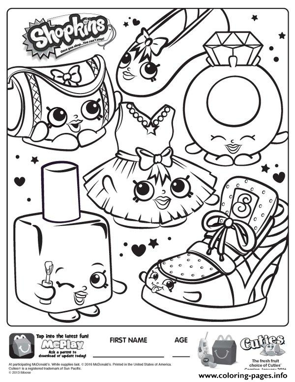 free shopkins coloring pages - free shopkins new printable coloring pages book