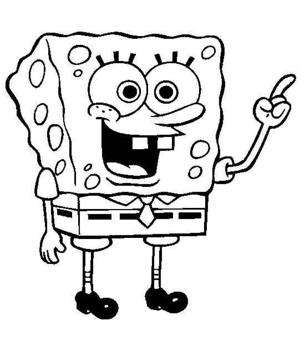 free spongebob coloring pages - printable spongebob squarepants coloring pages