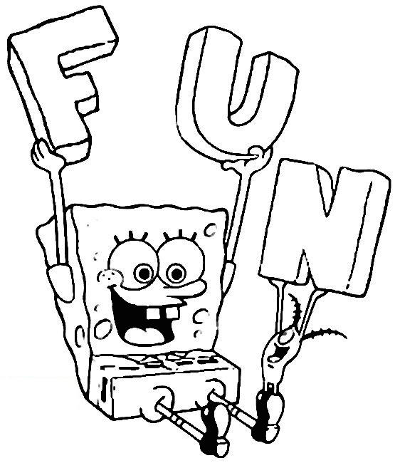 free spongebob coloring pages - spongebob coloring pages