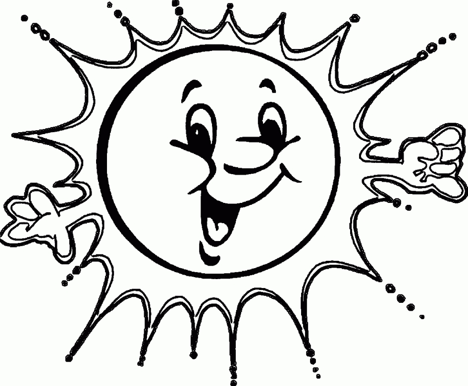 free summer coloring pages - coloring summer pages