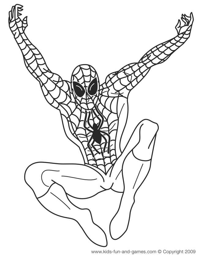 free superhero coloring pages - coloring pages superheroes