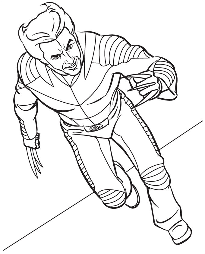 free superhero coloring pages - superhero coloring page