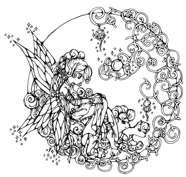 Free Unicorn Coloring Pages - 193 Best Images About Fairies & Unicorn Coloring Pages On