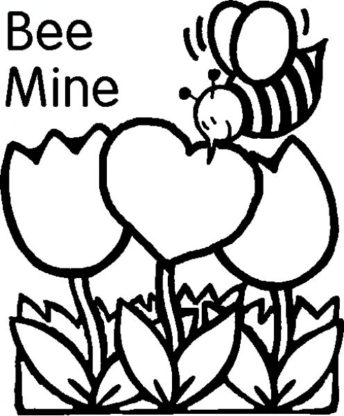 free valentine coloring pages - valentines day coloring pages