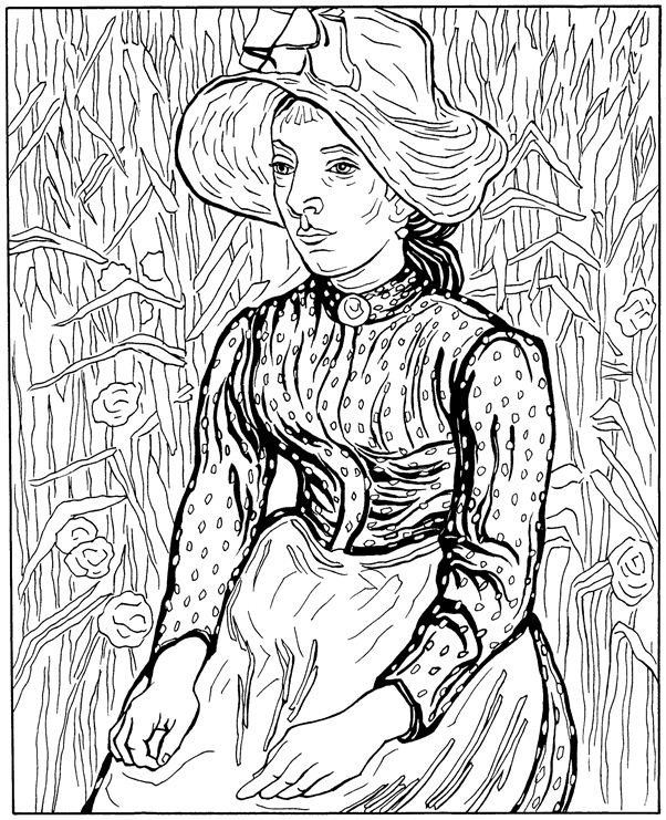 frida kahlo coloring pages - 506