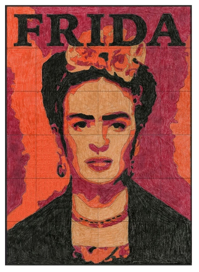 frida kahlo coloring pages - new frida kahlo mural