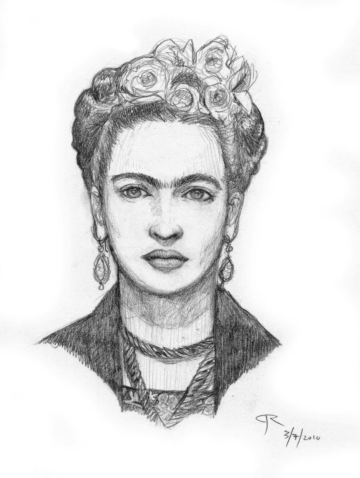 frida kahlo coloring pages - 2010 05 01 archive