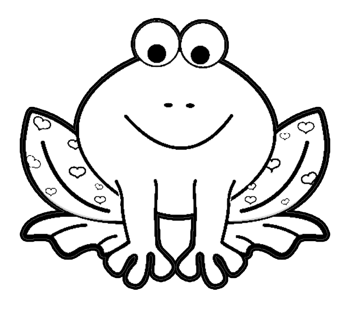 frog coloring pages - frog coloring pages 2
