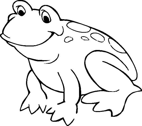 frog coloring pages - frog coloring pages 3