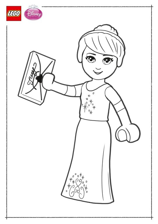 frozen elsa coloring pages - ausmalbilder lego disney prinzessinnen