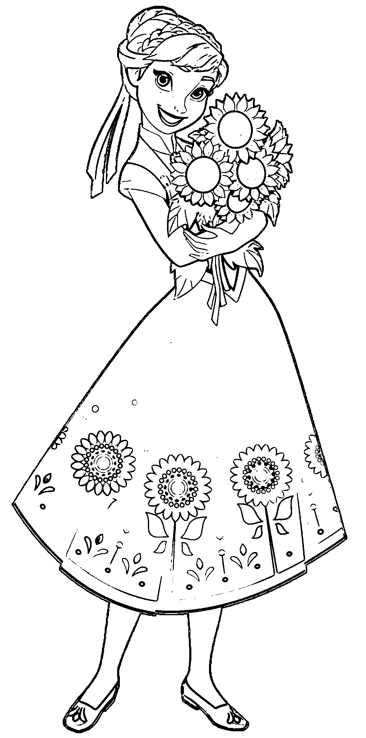 frozen fever coloring pages - coloring pages frozen fever