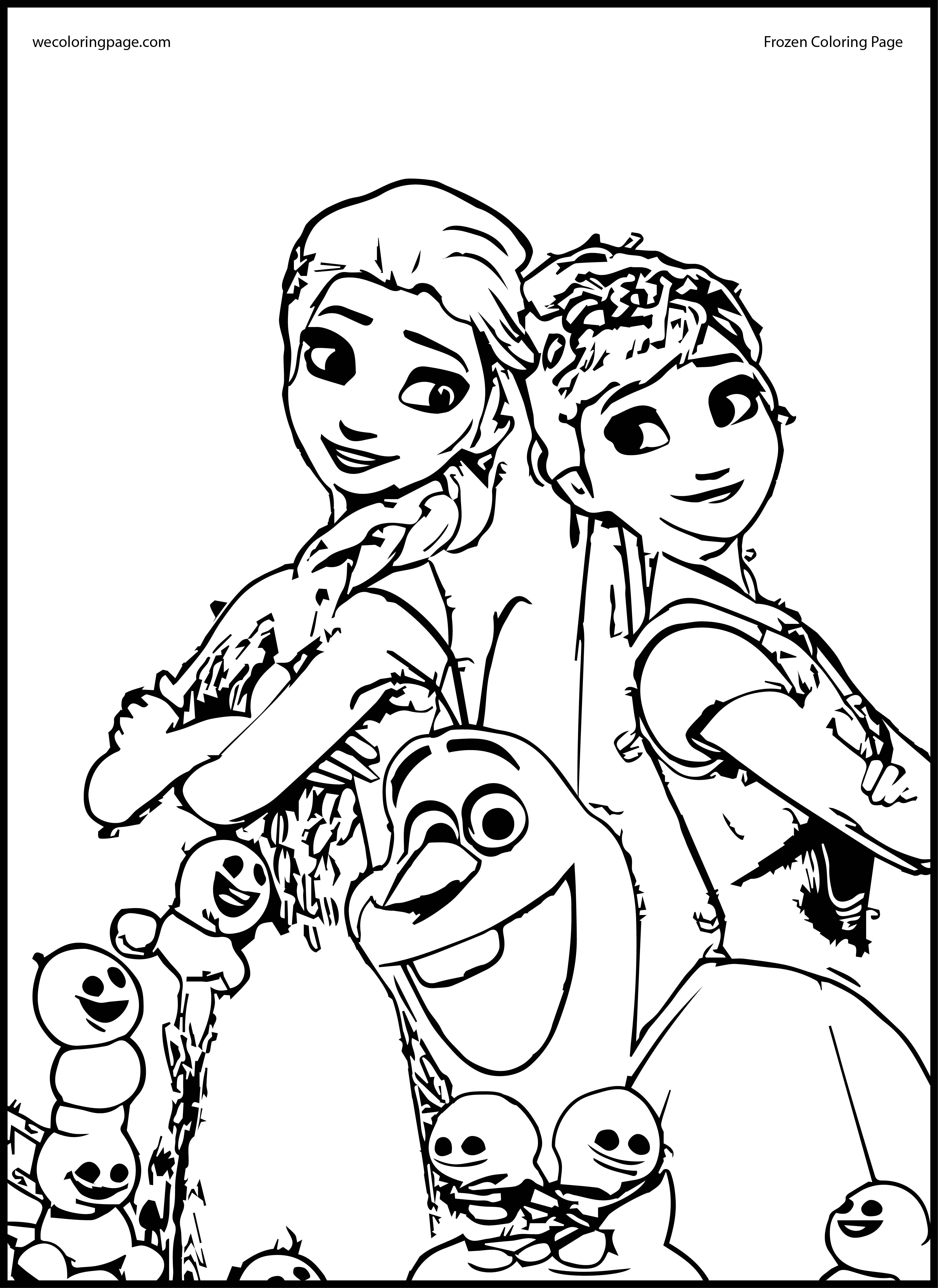 25 Frozen Fever Coloring Pages Images   FREE COLORING ...