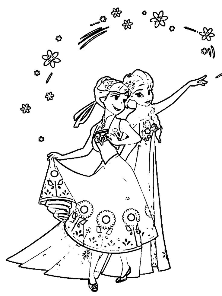 frozen fever coloring pages - frozen fever colouring pages to print