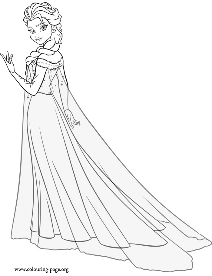 frozen fever coloring pages - 1345 frozen fever coloring page
