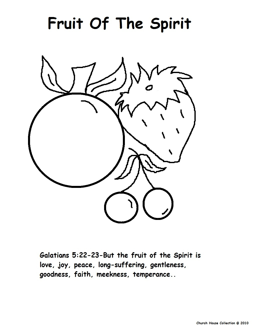 Fruit of the spirit coloring page fruit of the spirit coloring pages