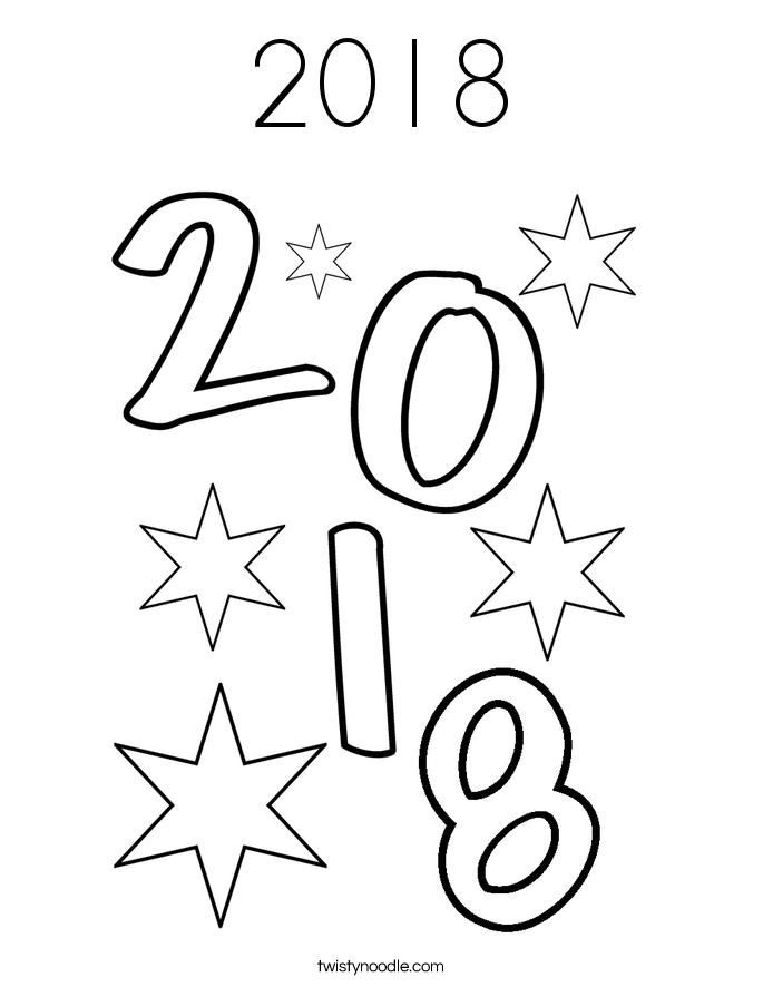 full page coloring pages - 2018 18 coloring page