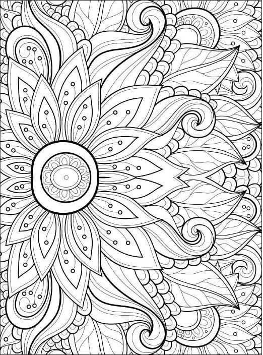 fun coloring pages for adults - adult coloring pages