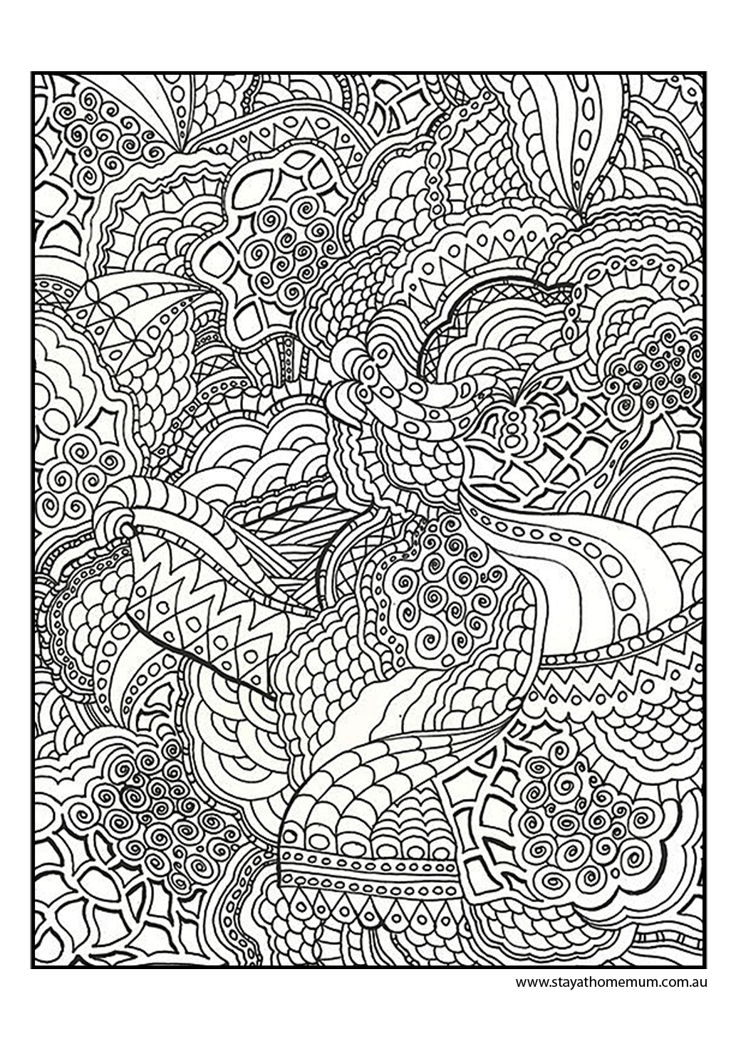 fun coloring pages for adults - printable colouring pages for kids and adults