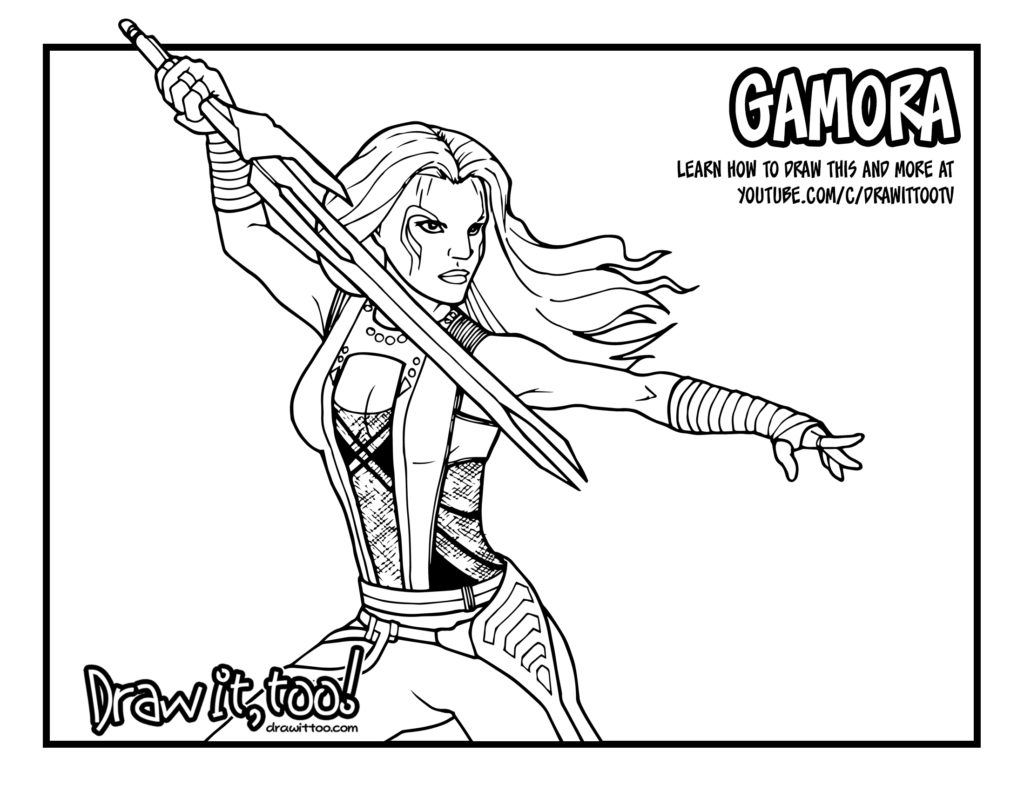 galaxy coloring pages - marvel guardians of the galaxy coloring pages sketch templates