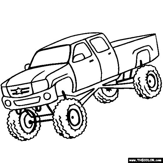 garbage truck coloring page - 40 free printable truck coloring pages