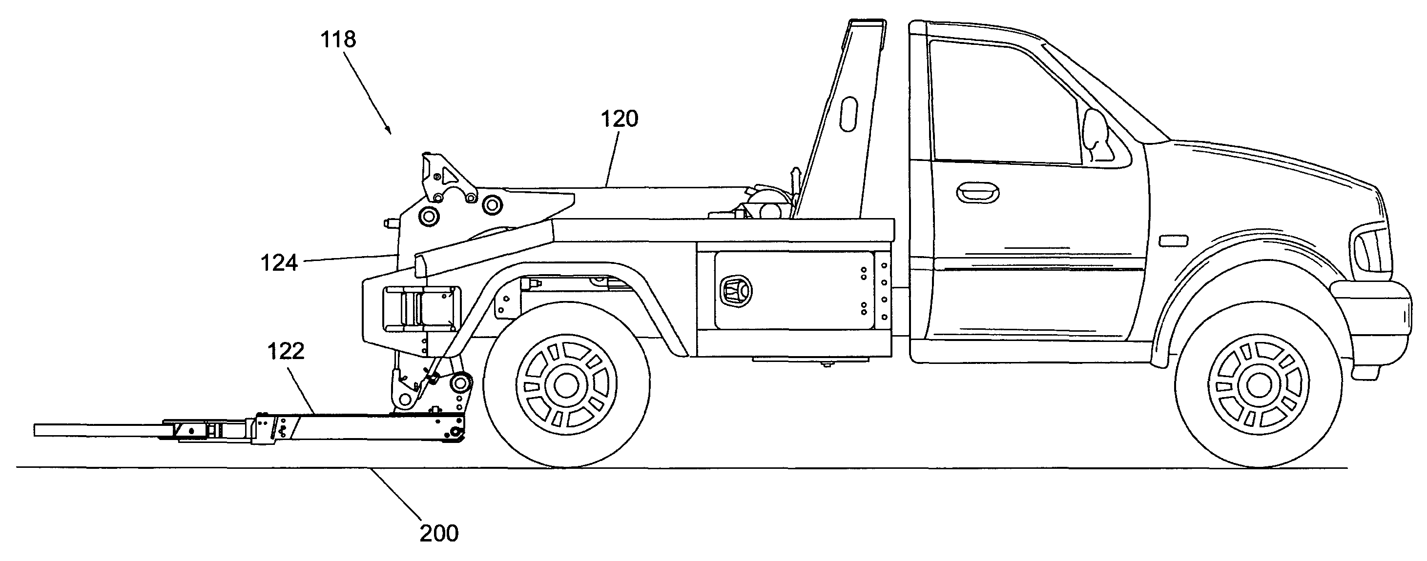garbage truck coloring page - US
