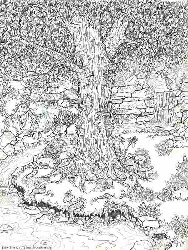 Garden Coloring Pages - 12 Garden Flowers Printable Coloring Pages for Adult