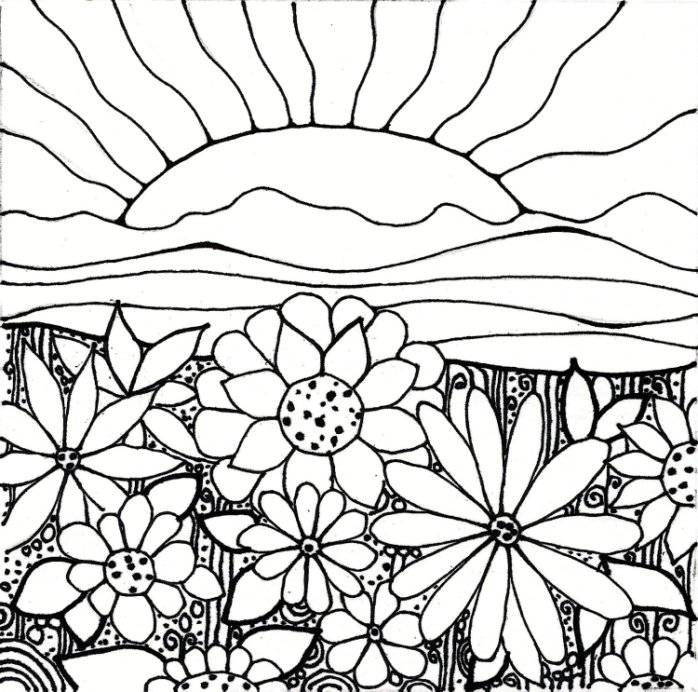 garden coloring pages - coloring pages garden