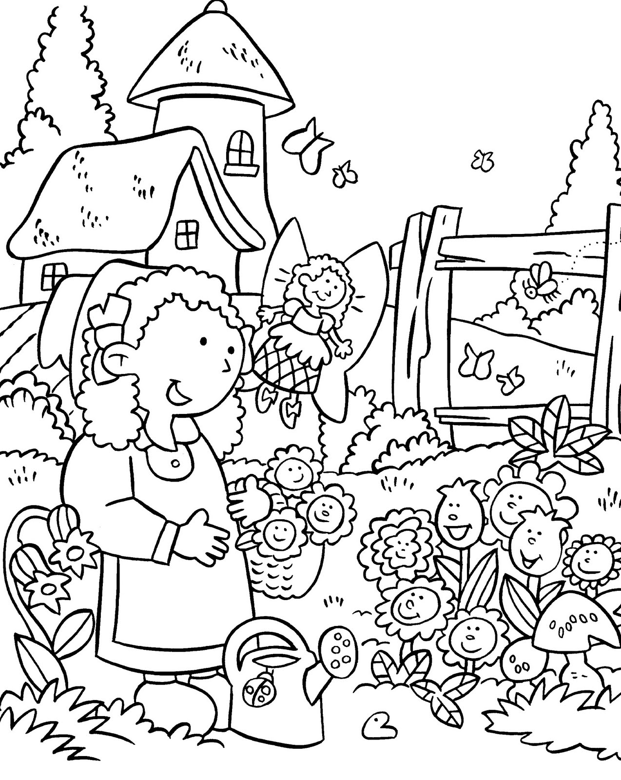 20 garden coloring pages selection | free coloring pages - part 2