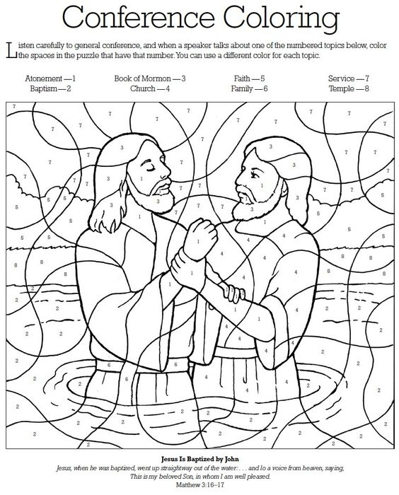 general conference coloring pages -