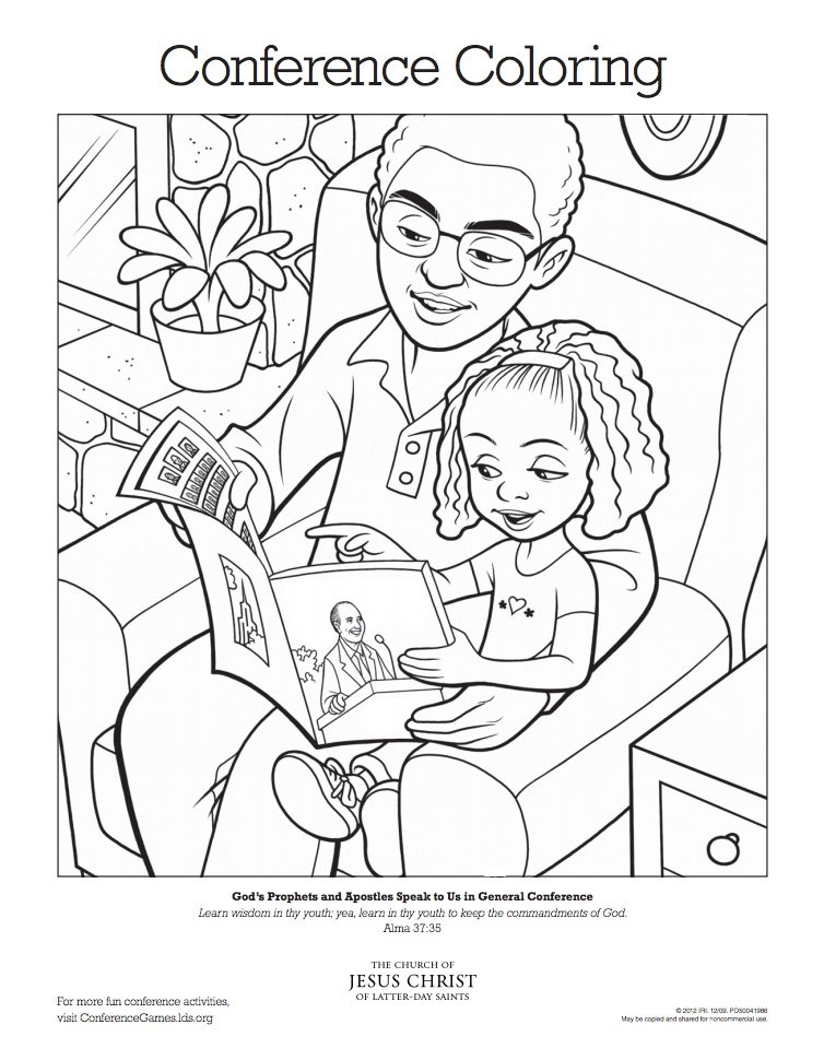 general conference coloring pages - president monson general conference coloring page sketch templates